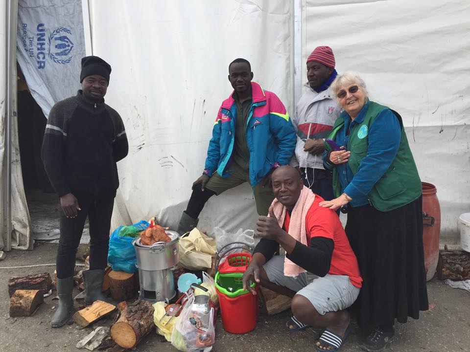 supplies for the refugees
