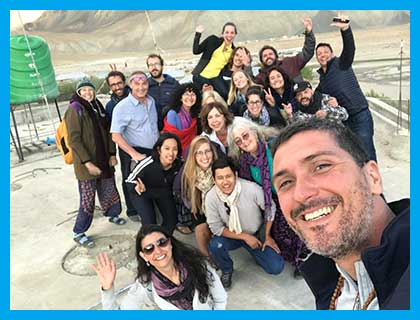 Zanskar 2018 Volunteer Group