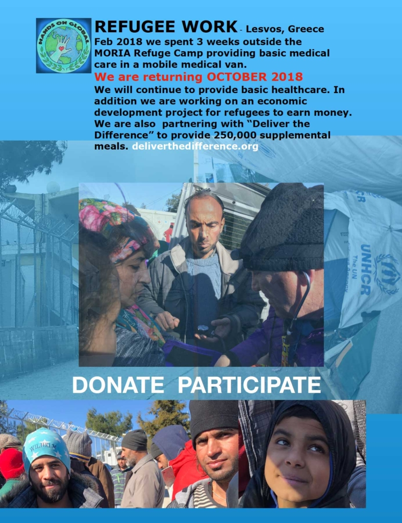 Refugee Donate Flyer Page One