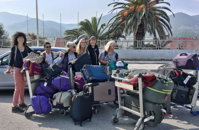 HOG group arrives in Lesbos