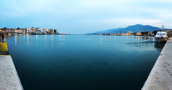 View From Mytilene