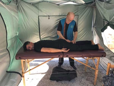 massage for refugees