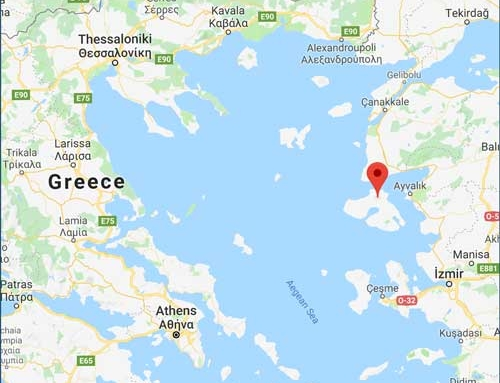 October 2:  Back to camp on Lesvos Island