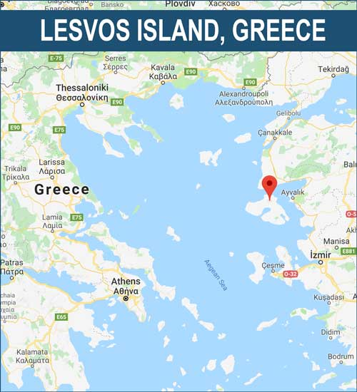Lesvos Camp Map