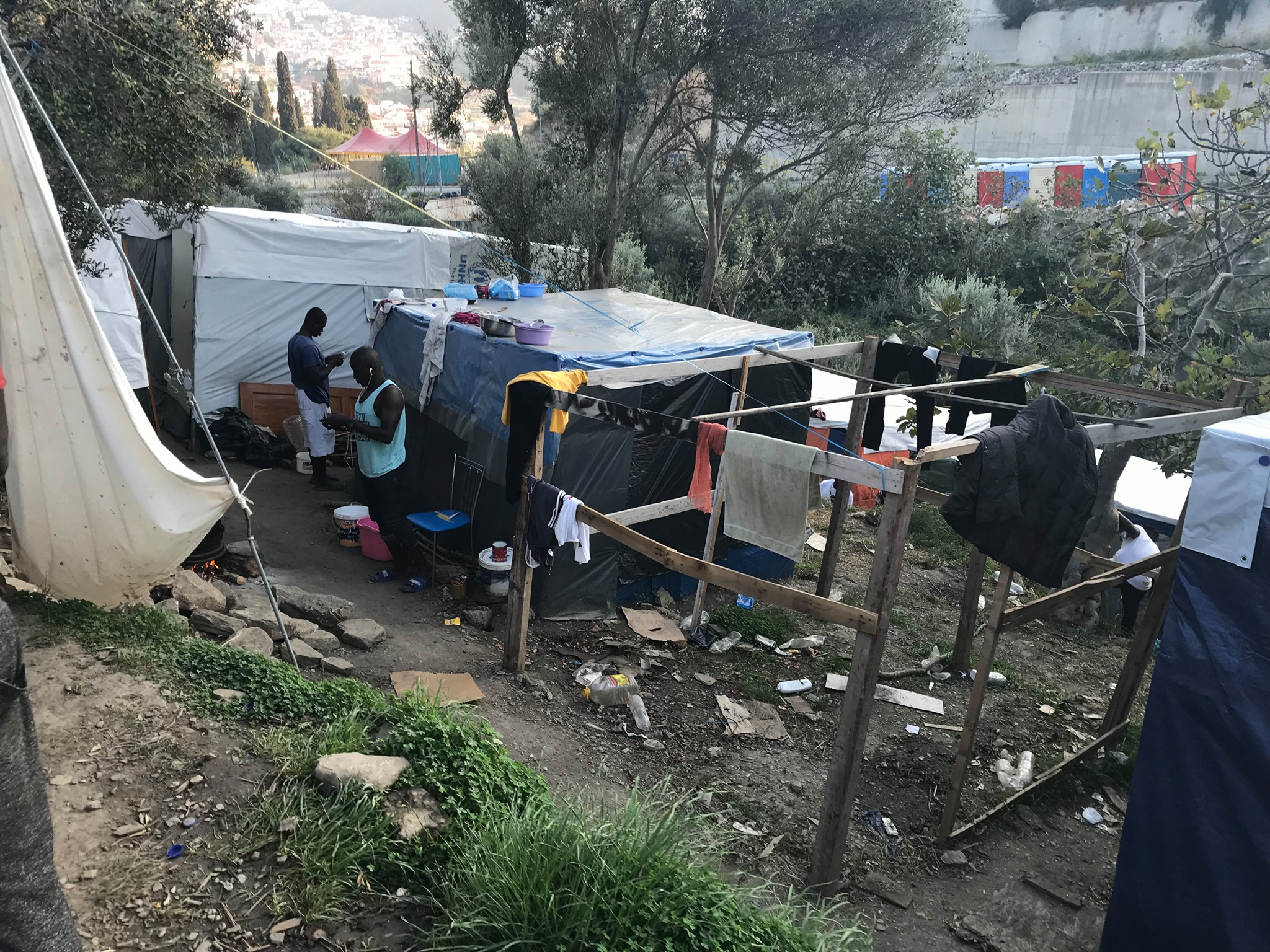 Samos Refugee Camp