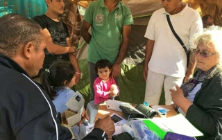 HOG Medical Team & Refugees