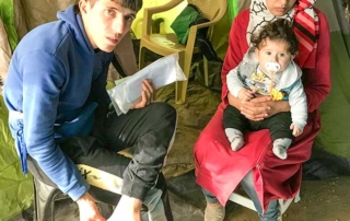 Samos refugee patients