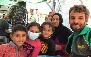 HOG Medical Tent - Samos Refugees