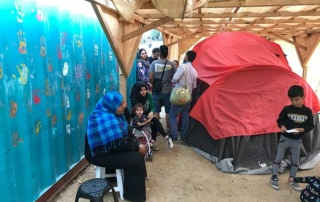 Samos Refugee Medical Tent