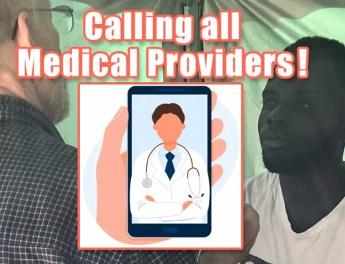 March 27:  Calling All Medical Providers!