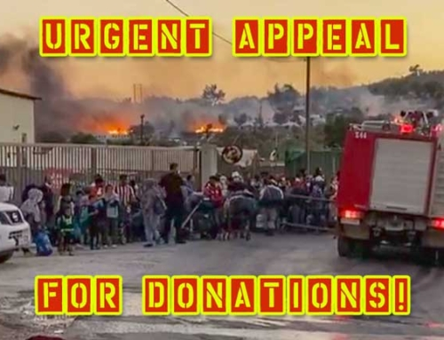 September 9:  URGENT APPEAL FOR DONATIONS!