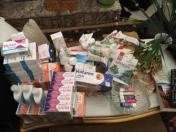 Donated Meds
