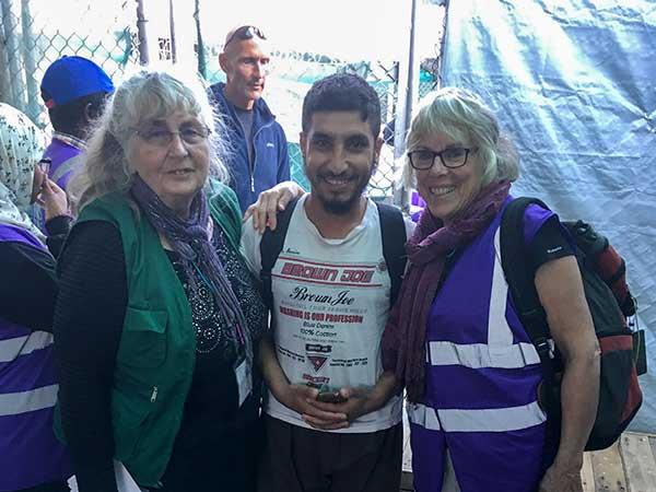Valerie, Karen & Refugee