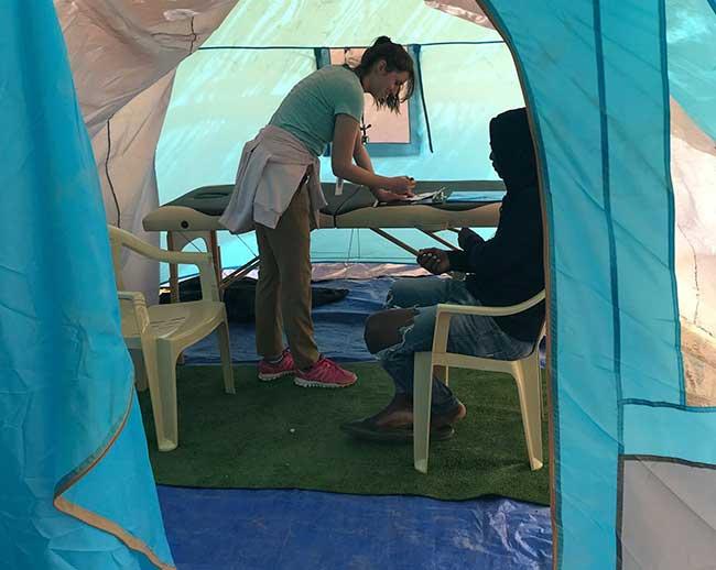 HOG medical tent_samos
