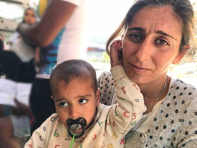 Refugee Mother & Child