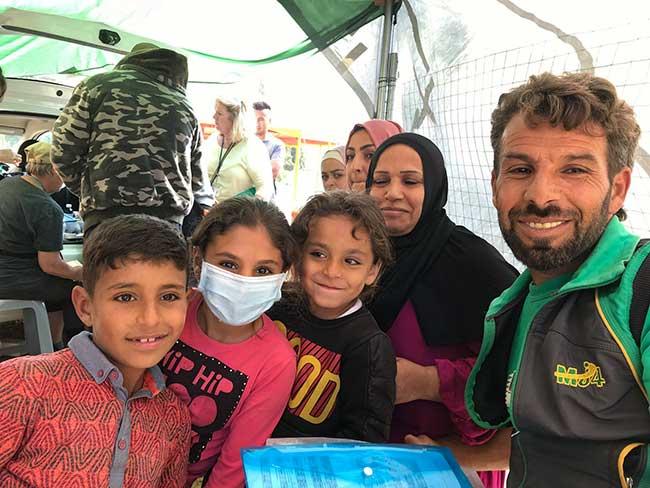 HOG Medical Tent - Samos Refugees