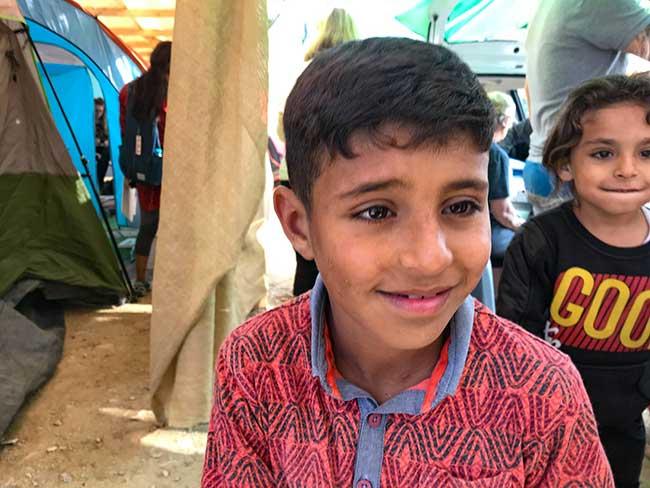 Samos Refugee Child