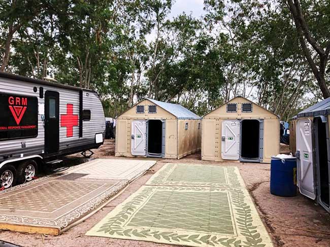 Global Response Management Tents
