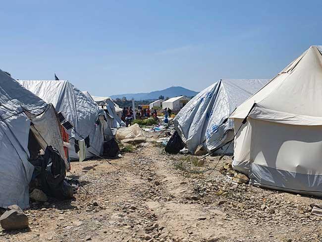 May 5:  Returning to camp on Lesvos Island